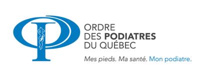 Ordre des podiatres du Québec Logo